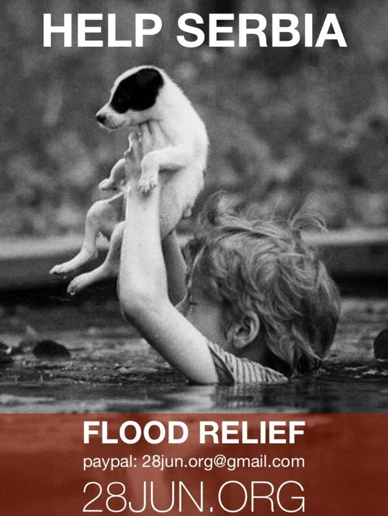 Help_Serbia_Flood_Relief_28_Jun_Poster